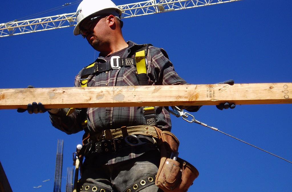 Manejando la protección contra caídas