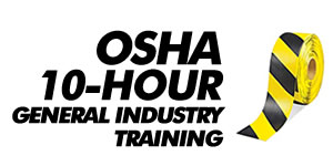 OSHA 10-hour general industry training